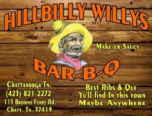HIllbilly Willy's logo