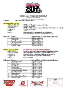 Spectator Guide for 2014 TKO