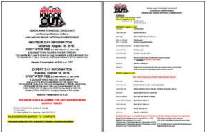 2015-KENDA-TKO-Spectator-Schedule-and-Information-300x193