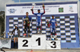 Pat Smage in Portugal, Day 1 podium