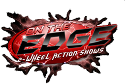 On The Edge 2-Wheel Action Show - logo