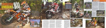 TKO feature in Dirt Bike Magazine Dec. 2011