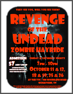 REVENGE OF THE UNDEAD - Haunted Hay Ride 2013