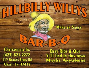 HIllbilly Willy's logo