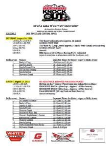 Spectator Guide for 2014 TKO