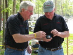 "Bill Mathewson, Carl ""Coach"" Swanson, TTC 2008"