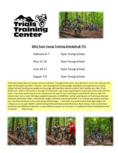 thumbnail of 2021 Ryan Young TTC Training Schedule